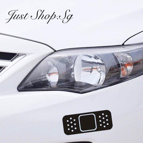 Car Plaster Sticker / Decal - Just Shop.Sg