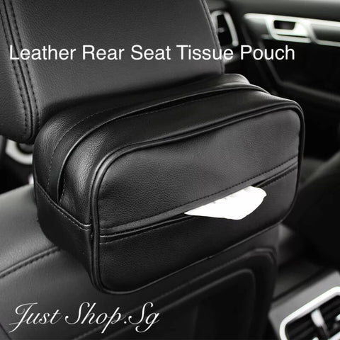 Rear Seat Tissue Pouch - Just Shop.Sg