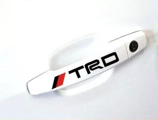 TRD Door Handle Sticker Set - Just Shop.Sg