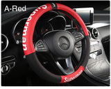 Superman Leather Steering Cover