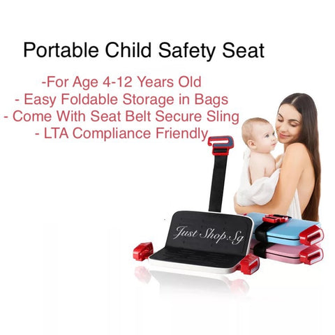 Portable Child Safety Seat - Just Shop.Sg