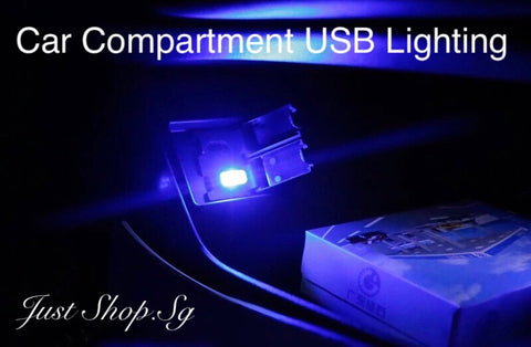 Car Compartment LED USb Light - Just Shop.Sg