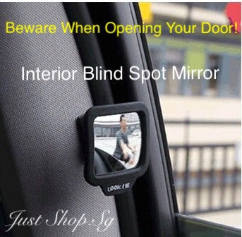 Interior Blind Spot Mirror - Just Shop.Sg