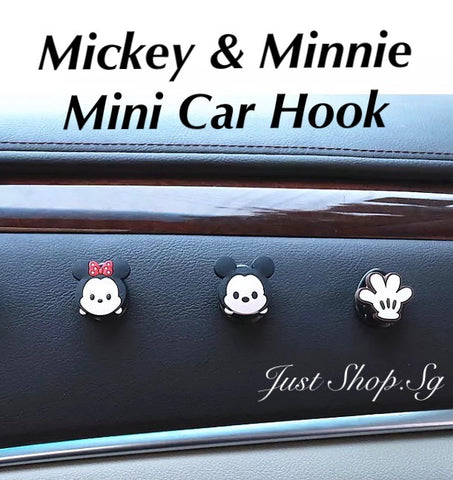 Mickey And Minnie Mini Car Hook