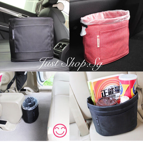 Canvas Car Storage Pocket - Just Shop.Sg