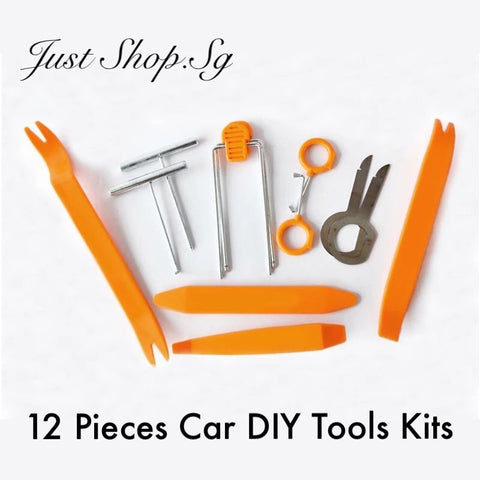 12 Pcs Car DIY Tools Kits - Just Shop.Sg