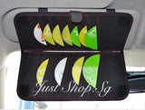 Car Visor CD and Tissue Pouch - Just Shop.Sg
