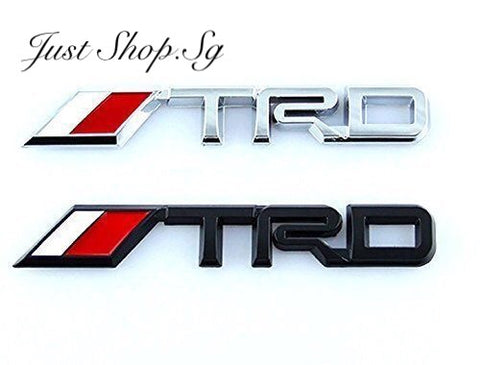 TRD Rear Emblem (14.3cm x 2cm) - Just Shop.Sg