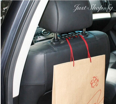 Car Headrest LR Hook / Hanger - Just Shop.Sg