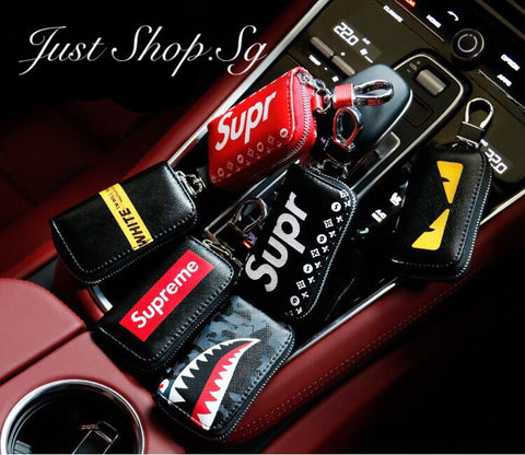 Supreme Car Key Pouch - Just Shop.Sg
