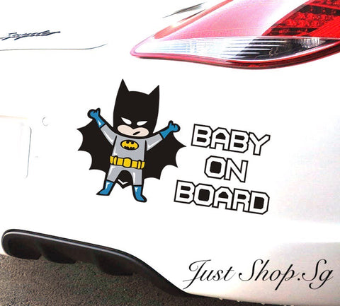Batman Baby In Car - Just Shop.Sg