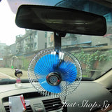 12V Oscillating Clip On Fan (8 Inches) - Just Shop.Sg