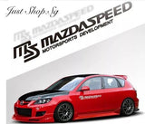 Mazda Speed Decal Sticker - Just Shop.Sg