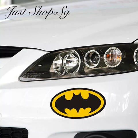 Batman Logo Car Sticker / Decal - Just Shop.Sg