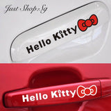 Hello Kitty Car Handle Decal - Just Shop.Sg