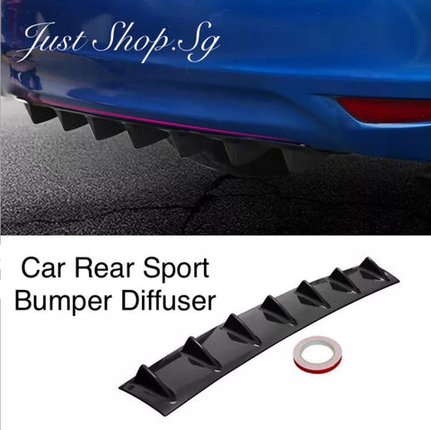 Sport Bumper Diffuser - Just Shop.Sg