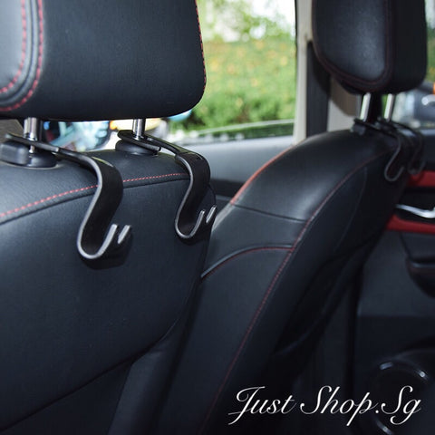 Car Rear Seat J-Hook / Hanger - Just Shop.Sg