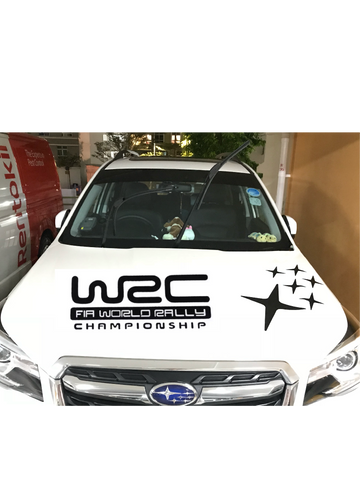 WRC Rally Car Decal / Sticker - Just Shop.Sg