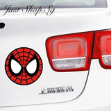 Spiderman Car Fuel Cover Decal / Sticker - Just Shop.Sg