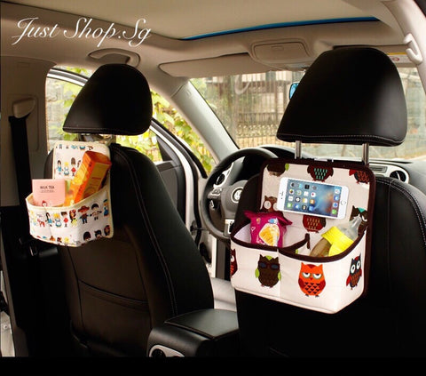 Korean Rear Seat  Organiser - Just Shop.Sg