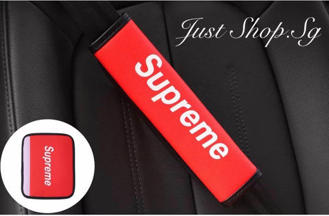 Supreme Seat Belt Cover - Just Shop.Sg