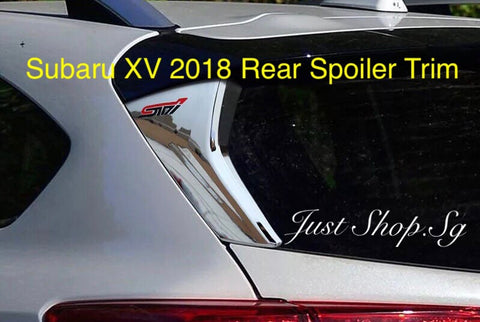 Subaru XV 2018 Rear Spoiler Trim - Just Shop.Sg
