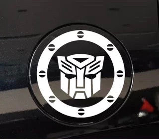 Transformer Fuel Cover Decal / Sticker