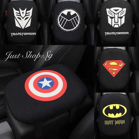 Super Hero Car Armrest Cushion - Just Shop.Sg