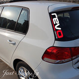Revo Car Decal /Sticker - Just Shop.Sg