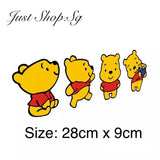 Winnie The Pooh Fun Car Decal / Sticker - Just Shop.Sg
