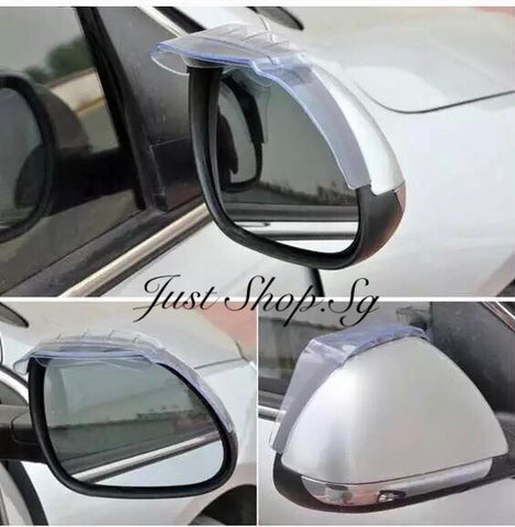 Side Mirror Shade With Rain Diffuser - Just Shop.Sg