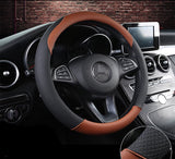 Cross Grip Sport Leather Steering Cover - Just Shop.Sg