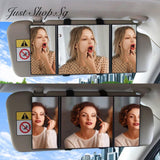 Car Visor Trifold Mirror - Just Shop.Sg