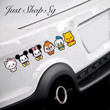 Baby Mickey And Friend Car Decal / Sticker - Just Shop.Sg