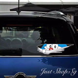 Doraemon Peeking Car Decal / Sticker - Just Shop.Sg
