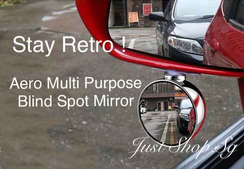 Aero Multi Purpose Blind Spot Mirror - Just Shop.Sg