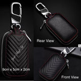 V Series Leather FOB / Key Pouch - Just Shop.Sg