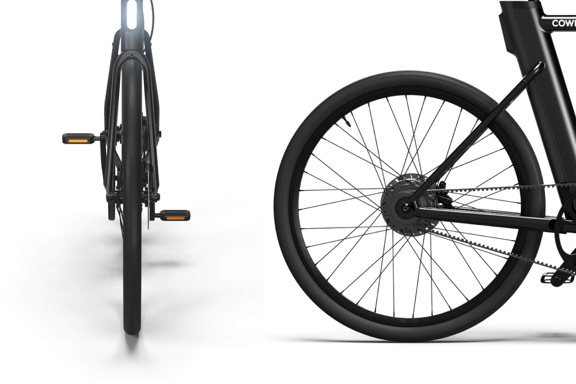 Cowboy e-bike - Comfort - Wide tires
