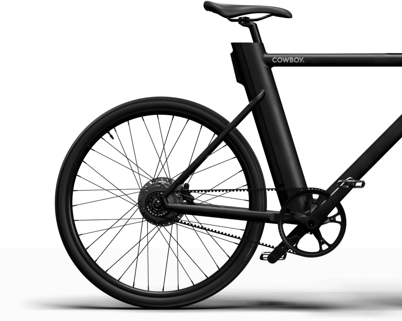 Cowboy E-Bike - Carbon-Riemengetriebe