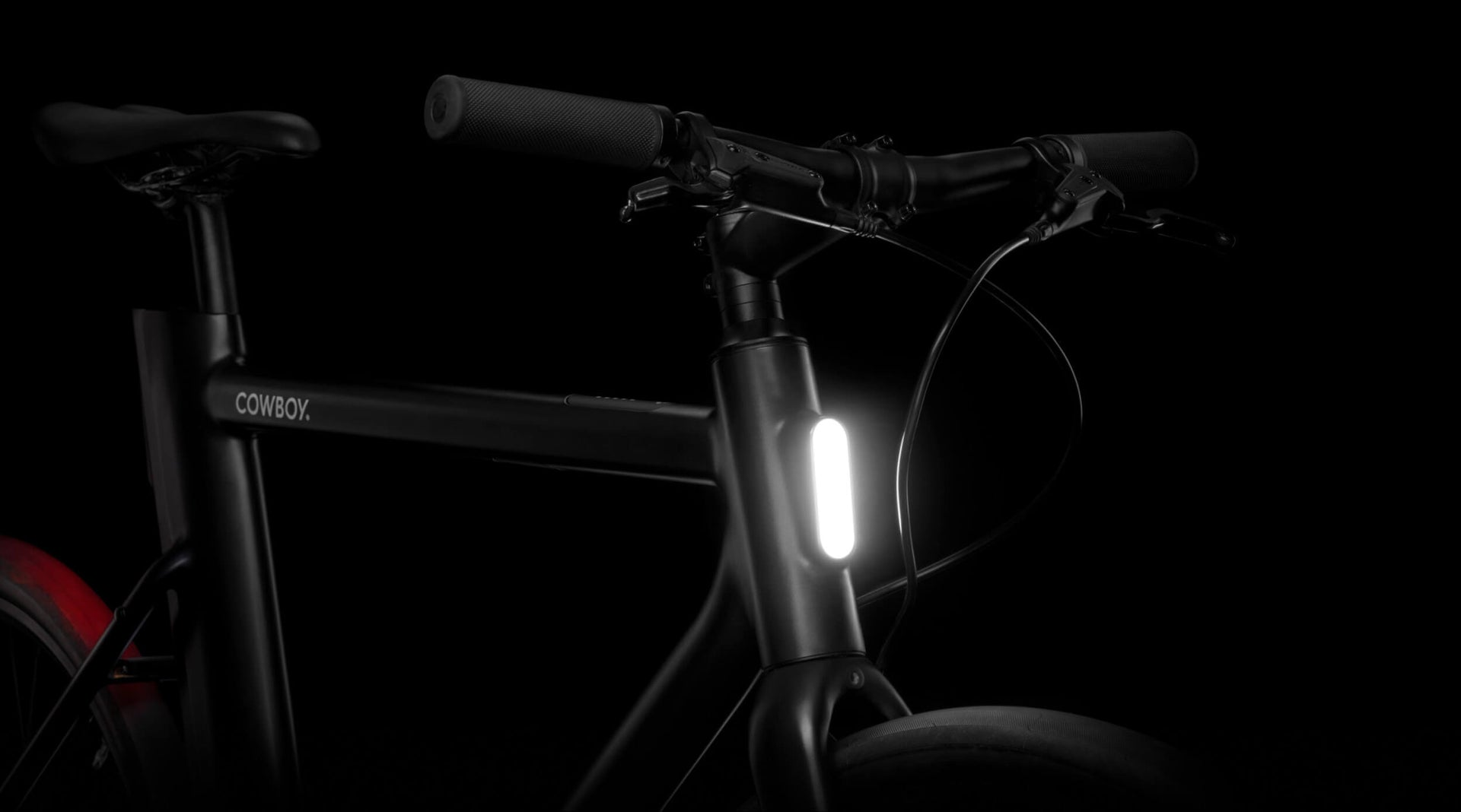 Cowboy e-bike - Integrated lights