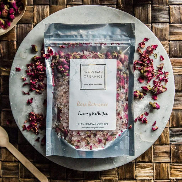 Luxury Rose Bath Tea
