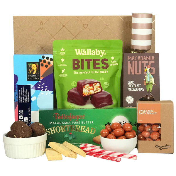Byron Bay Gifts GIFT HAMPERS Merry Christmas Hampers