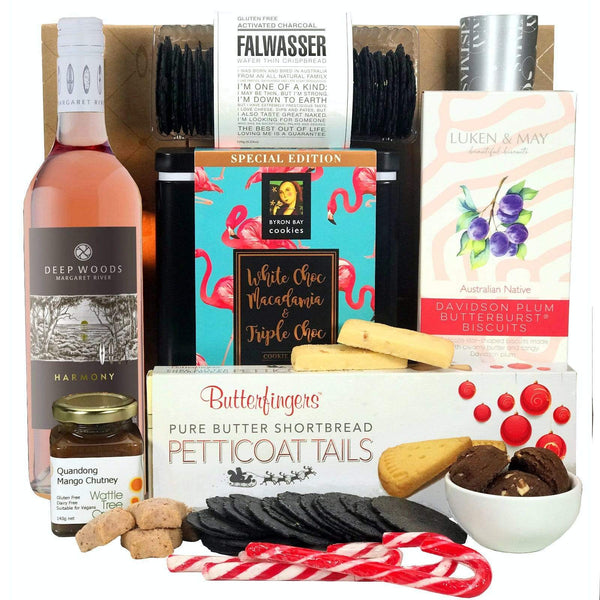 Byron Bay Gifts GIFT HAMPERS Rosé Christmas Hamper