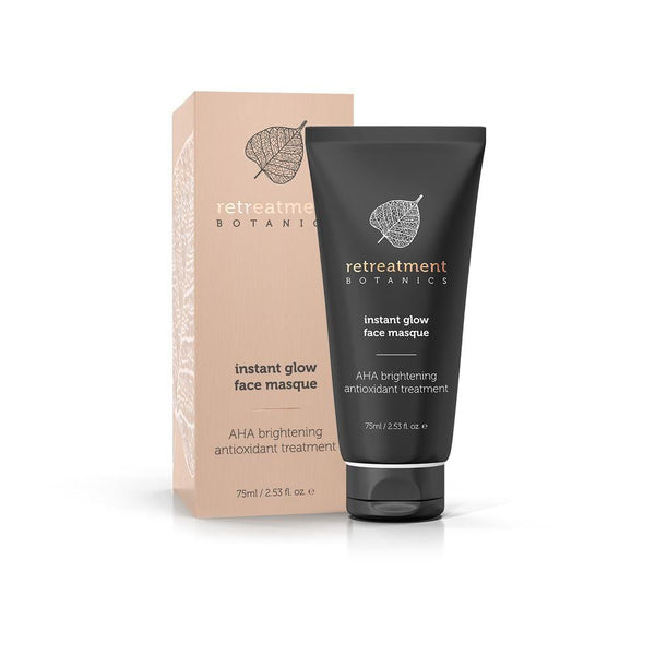 Byron Bay Gifts ONLINE GIFT SHOP Retreatment Botanics Instant Glow Face Masque (75ml)