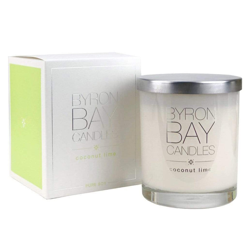 Candles Byron Bay ONLINE GIFT SHOP Coconut & Lime Candle