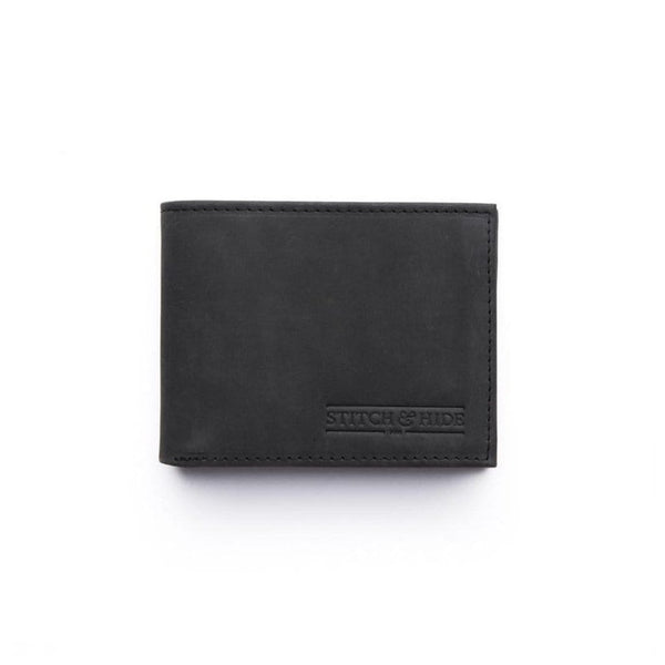 Stitch & Hide ONLINE GIFT SHOP Casper Wallet - Black