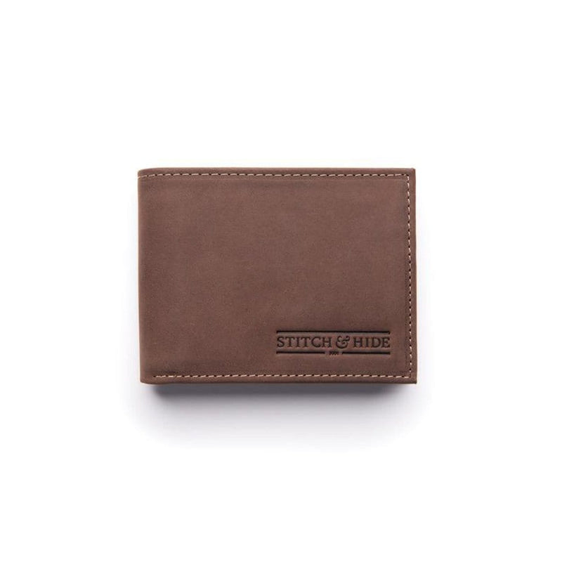 Stitch & Hide ONLINE GIFT SHOP Casper Wallet - Brown