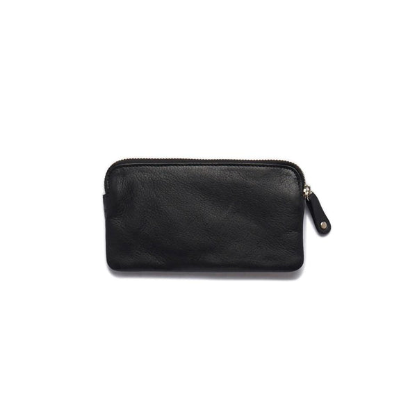 Stitch & Hide ONLINE GIFT SHOP Leather Coin Purse 'Lucy' Black