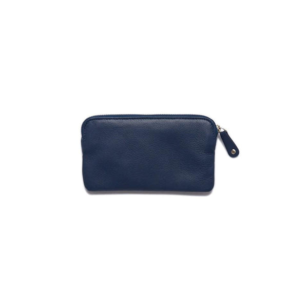 Stitch & Hide ONLINE GIFT SHOP Leather Coin Purse 'Lucy' Ocean