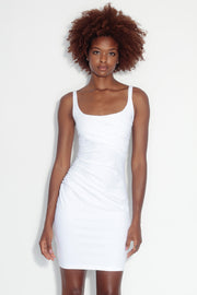 gather tank dress